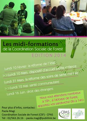 Midi-formation 2014 (1er semestre)