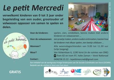 Flyer Petit Mercredi NLFR